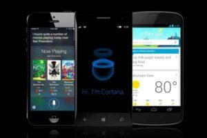Cortana vs Siri e Google Now