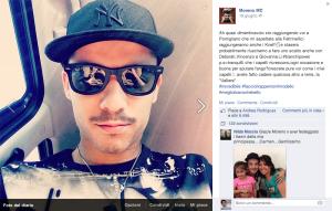 Reazione Moreno alle critiche dei fans