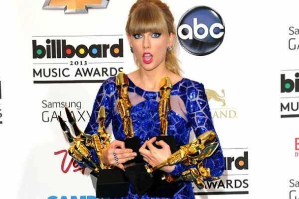 Taylor Swift donna più ricca del 2016 nella musica