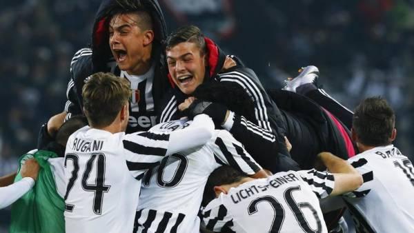Juventus finale scudetto 2016