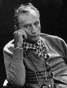 Una foto di Luchino Visconti
