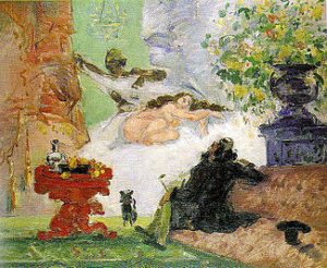 prima mostra impressionista - Paul Cezanne