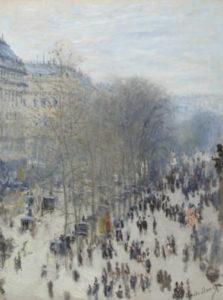 prima mostra impressionista - Claude_Monet,_1873-74,_Boulevard_des_Capucines