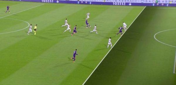 Fiorentina Juventus goal Bernardeschi annullato