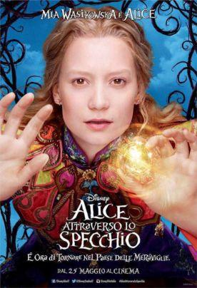 Alice attraverso lo specchio la recensione con voto e trailer - Lo specchio film ...