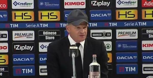 ritiro estivo 2016 Udinese Iachini
