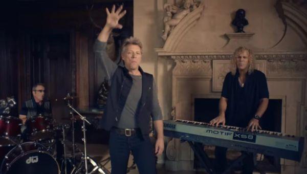 Bon Jovi video Born Again Tomorrow