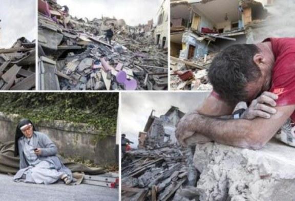 Sale a 73 il numero dei morti nel terremoto di Amatrice, Arquata e Pescara del Tronto.