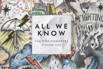 I The Chainsmokers con All We Know si affidano alla voce di Phoebe Ryan.
