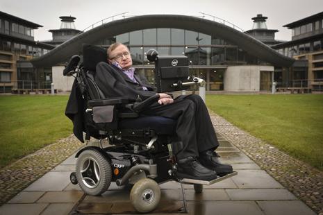 Stephen Hawking obesità