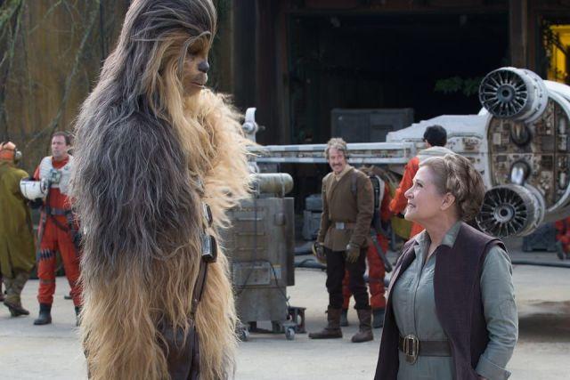 Disney ha ricevuto 50 milioni dopo la morte di Carrie Fisher