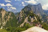 Il Monte Hua è un'attrazione turistica solo per i più avventurosi viaggiatori.