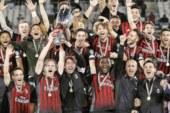 Impresa del Milan al Dall'Ara. I rossoneri in nove mettono al tappeto il Bologna.