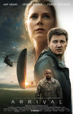 recensione Arrival film - Locandina Film