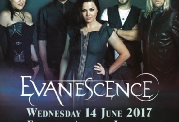 Gli Evanescence annunciano un concerto nel Regno Unito. Non succedeva dal 2012.
