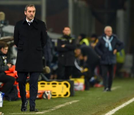 Marco Giampaolo strategie da allenatore della Sampdoria