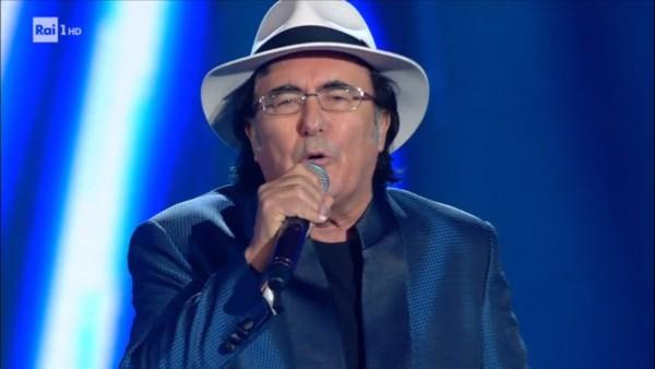 Al Bano porta Pregherò nella serata delle cover di Sanremo 2017.