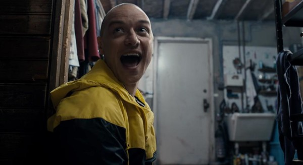 Split recensione - James McAvoy come Hedwig.