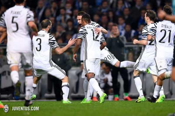cammino della Juventus nella Champions 2016/17
