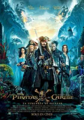 Pirati dei Caraibi La vendetta di Salazar Recensione - Locandina Film uscito nel 2017