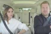 Victoria Beckham protagonista nel divertente spin-off del Carpool Karaoke di James Corden.