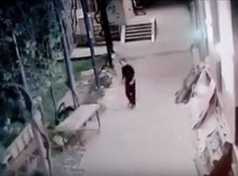 È un fantasma o solo il vento? Guarda questo filmato della sicurezza e decidi.