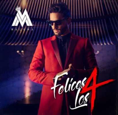 Maluma - Felices Los 4 Cover
