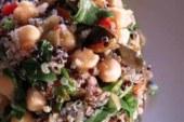 Ricetta estiva e salutare | Insalata di quinoa, ceci e zenzero.