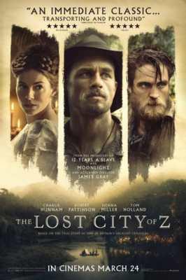 Recensione Civiltà Perduta - Locandina Film uscito nel 2017