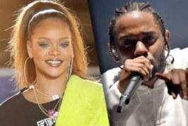 """Rihanna e Kendrick Lamar sul set per il video di """"Loyalty"""""""