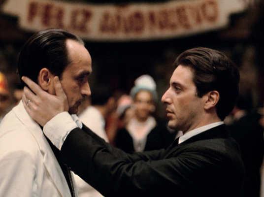 Il Padrino 2 Recensione - Al Pacino e John Cazale in Il Padrino 2