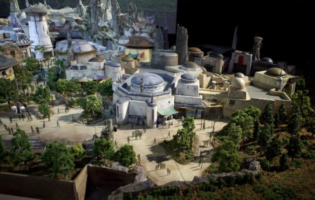 Star Wars a Disneyland