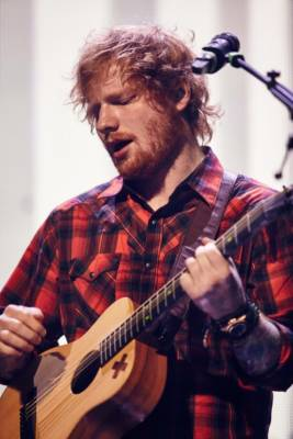 Ed Sheeran coinvolto in un incidente d'auto