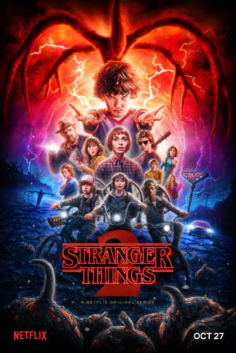 Stranger Things 2 poster ufficiale