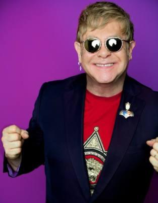 foto del cantante Elton John