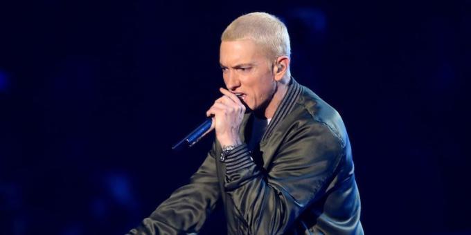 Eminem live agli MTV European Music Awards
