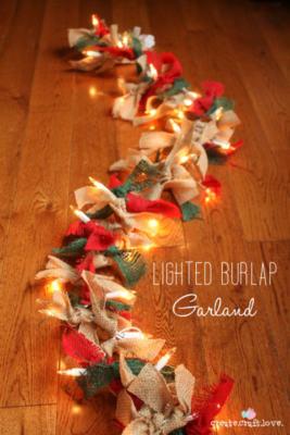 illuminare la casa per Natale