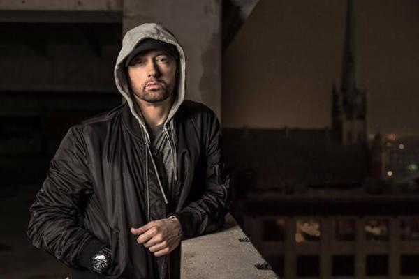 una foto recente del rapper Eminem