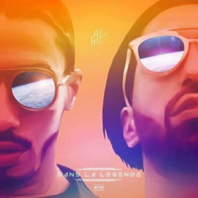 immagine della copertina dell'album dans la légende di PNL