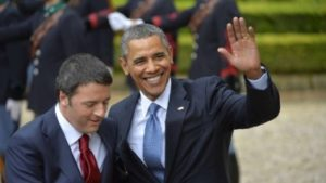 Barack Obama e Renzi