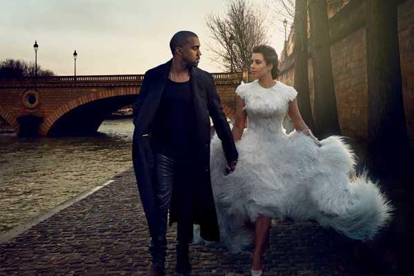 Kim Kardashian e Kanye West per Vogue
