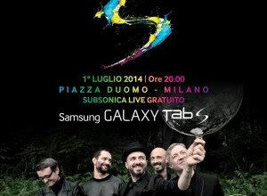 Subsonica si esibiranno gratis a Milano