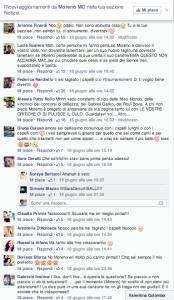 Reazione Fans per il nuovo look di Moreno
