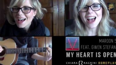 Chiara Ragnini - cover di My Heart is Open dei Maroon 5