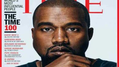 Kanye West copertina TIME 100