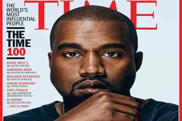 Kanye West copertina TIME 100