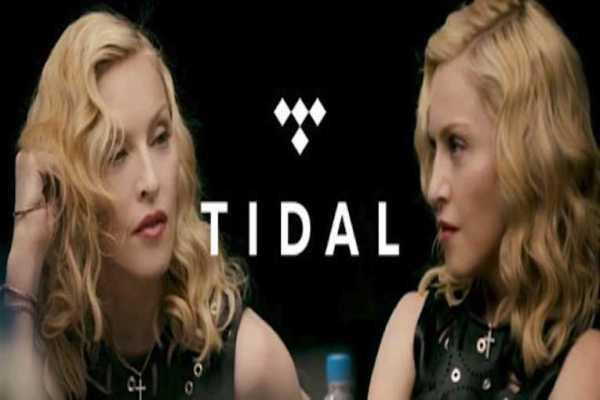 Madonna telefonate abbonati Tidal