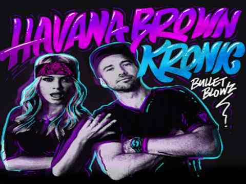 Havana Brown - Bullet Blowz, la cover del singolo.