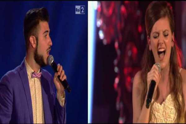 Maurizio di Cesare e Carola Campagna ai Live di The Voice