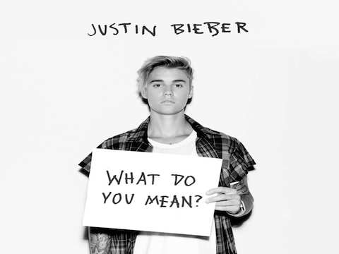 Justin-Bieber- What Do You Mean cover